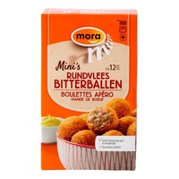 Mora mini rundvlees bitterbal