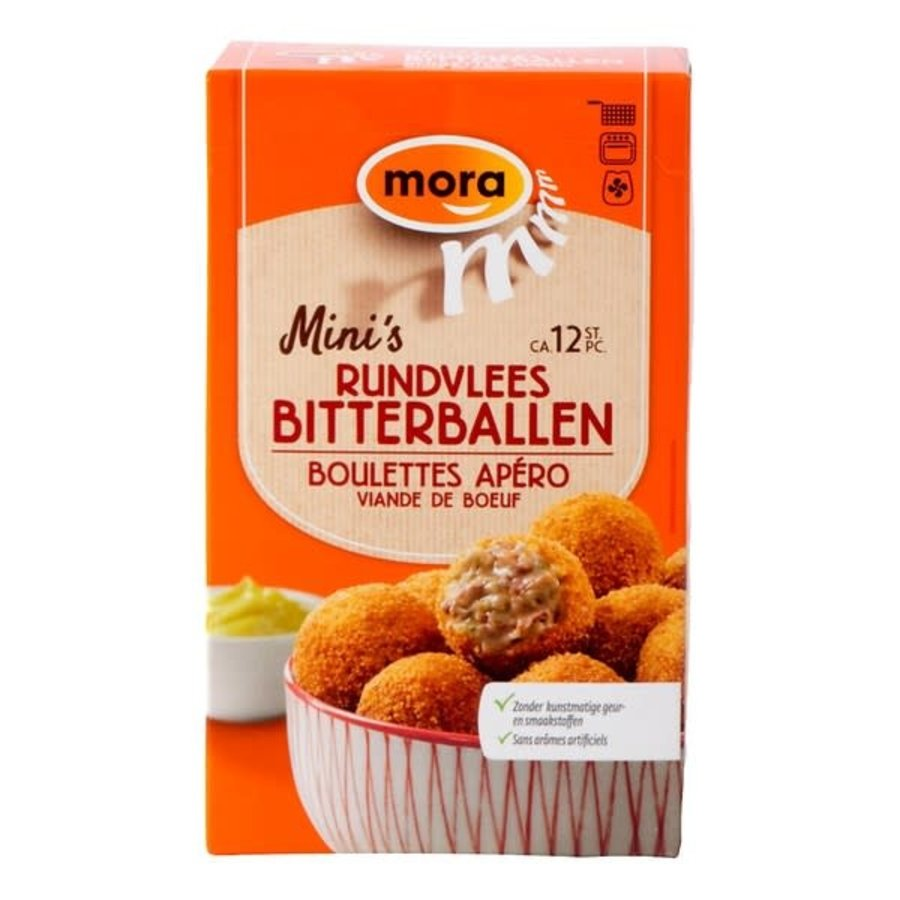 Mora mini rundvlees bitterbal-1