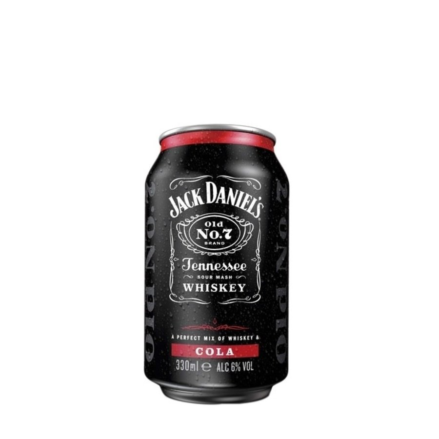 Jack Daniel's Whisky-cola 33cl-1