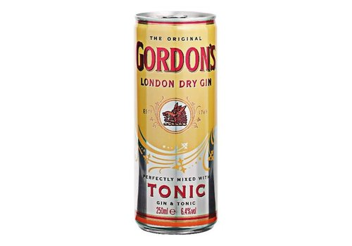 Gordon's Gin en Tonic 250 ml