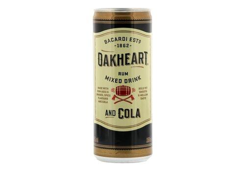 Bacardi Oakheart cola 25 cl