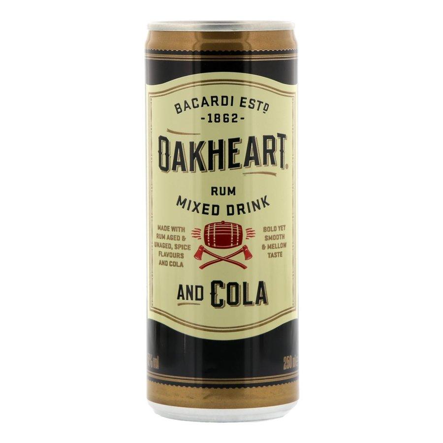 Bacardi Oakheart cola 25 cl-1