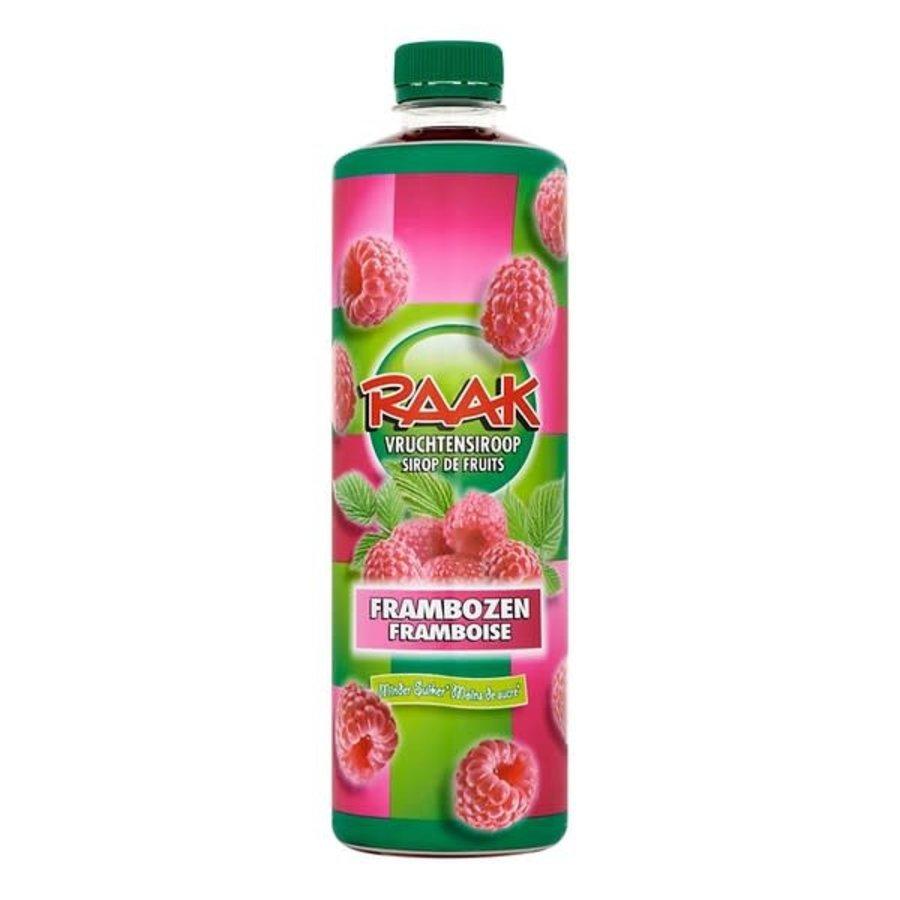 Raak Vruchtensiroop framboos 750 ml-1