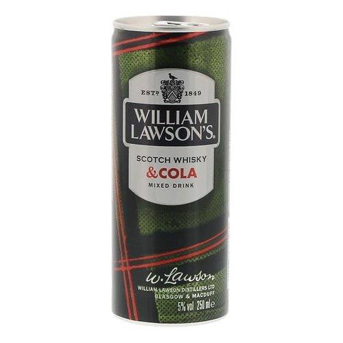 William Lawson's Scotch Whisky & Cola 25cl