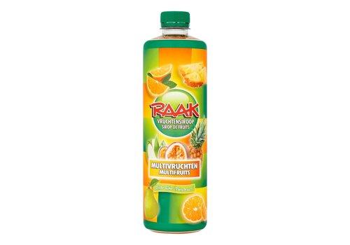 Raak limonadesiroop multivrucht 75 cl