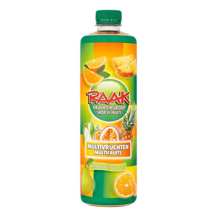 Raak limonadesiroop multivrucht 75 cl-1