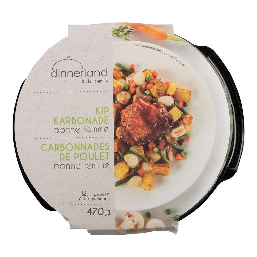 Dinnerland Kipkarbonade bonne femme-1