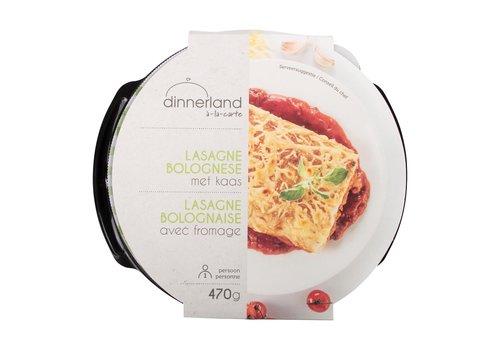 Dinnerland Lasagne bolognese met kaas
