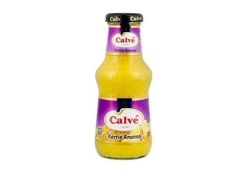 Calvé Partysaus Kerrie ananas saus