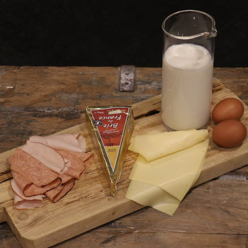 Kaas, Zuivel en Vleeswaren