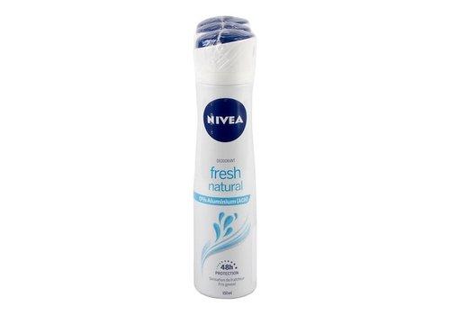 Nivea Deodorant spray fresh natural