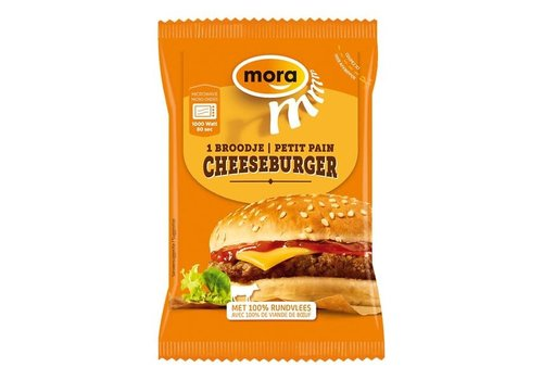 Mora Broodje Cheeseburger