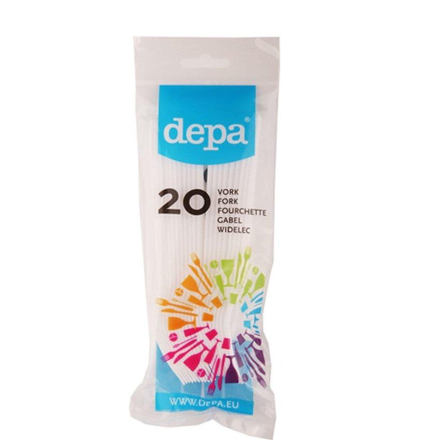 Depa Plastic vork(20 stuks)-1