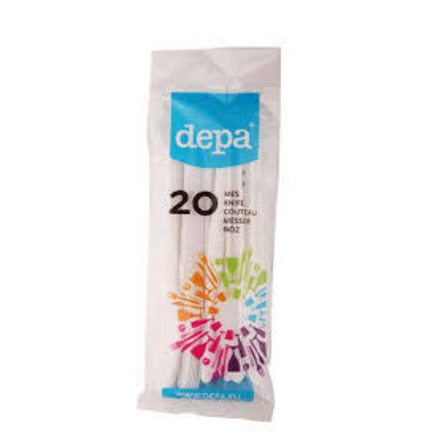 Depa Plastic Mes (20 stuks)-1