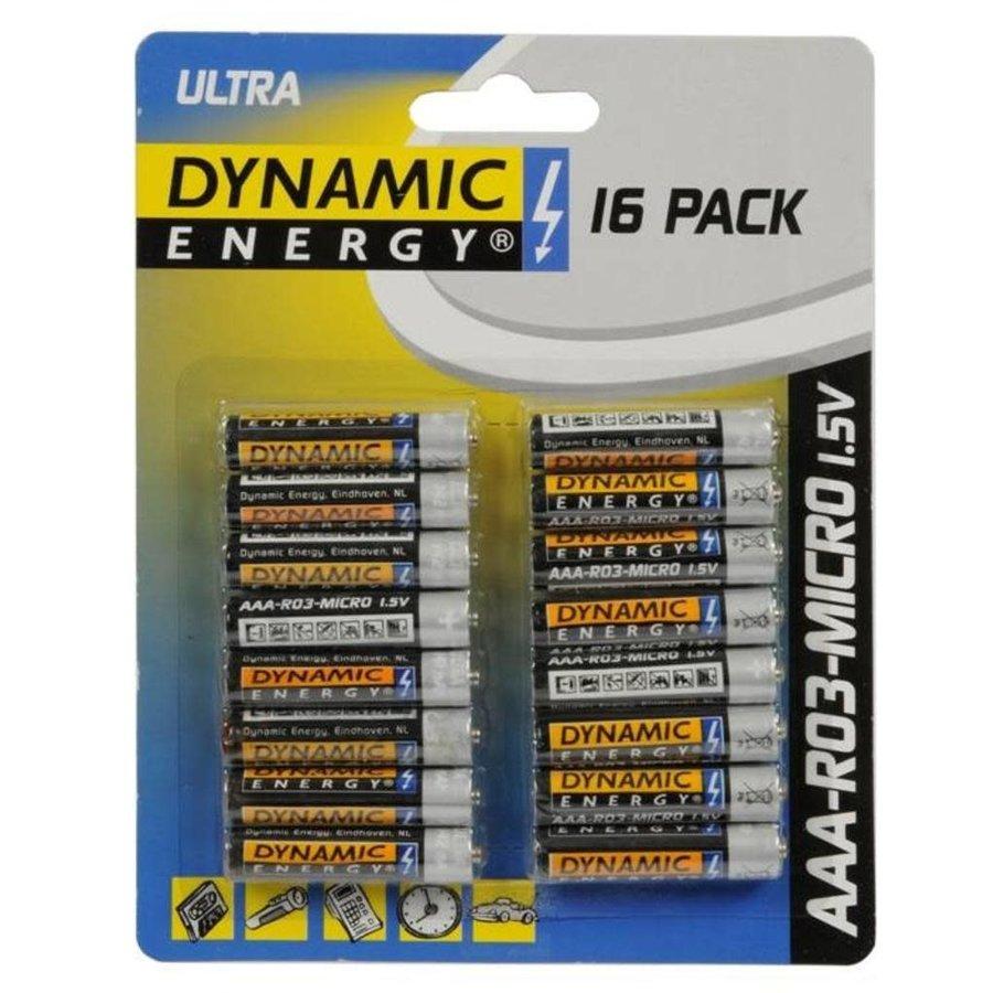 Dynamic energy batterij AAA 16st-1