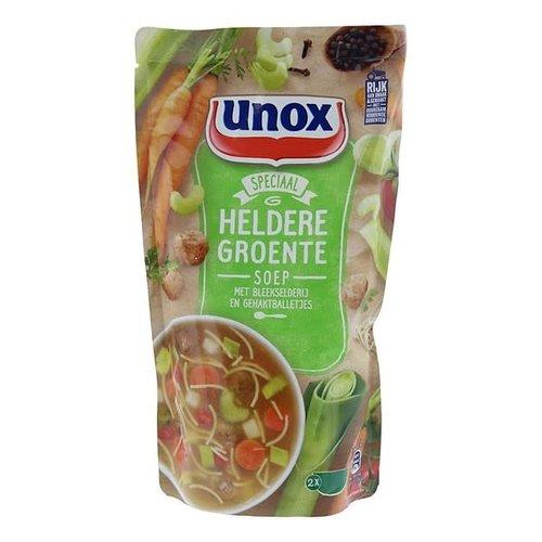 Unox Speciaal Heldere groentesoep