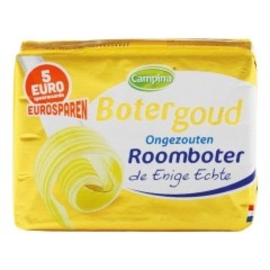 Campina Botergoud Roomboter halfvol-1