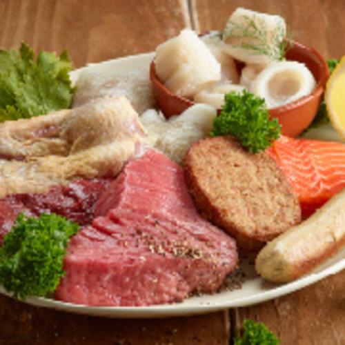Vlees, Vis, Wild en Gevogelte