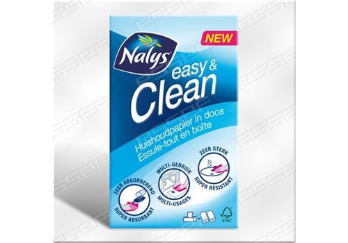 Nalys Easy & Clean huishoudpapier in doos