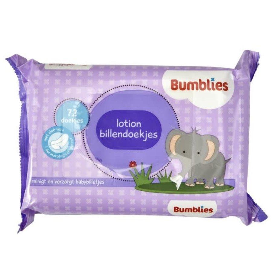 Bumblies Babydoekjes navul lotion-1