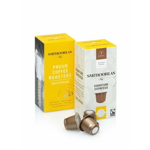 Smit&Dorlas Capsule espresso Fairtrade