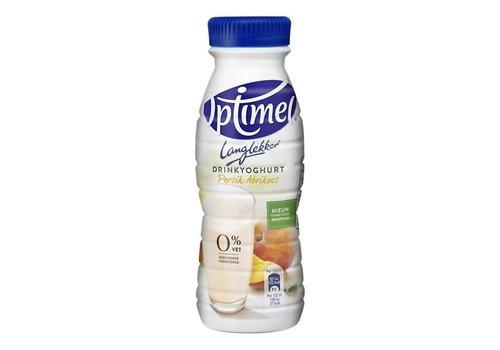 Optimel Drinkyoghurt perzik-abrikoos petfles