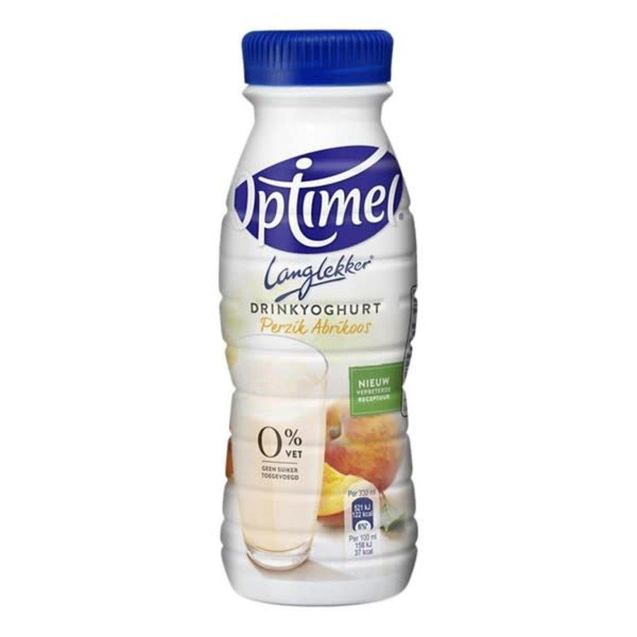 Optimel Drinkyoghurt perzik-abrikoos petfles-1