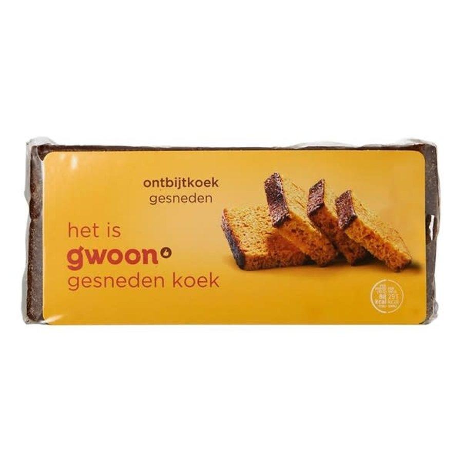 G'woon Ontbijtkoek naturel gesneden-1