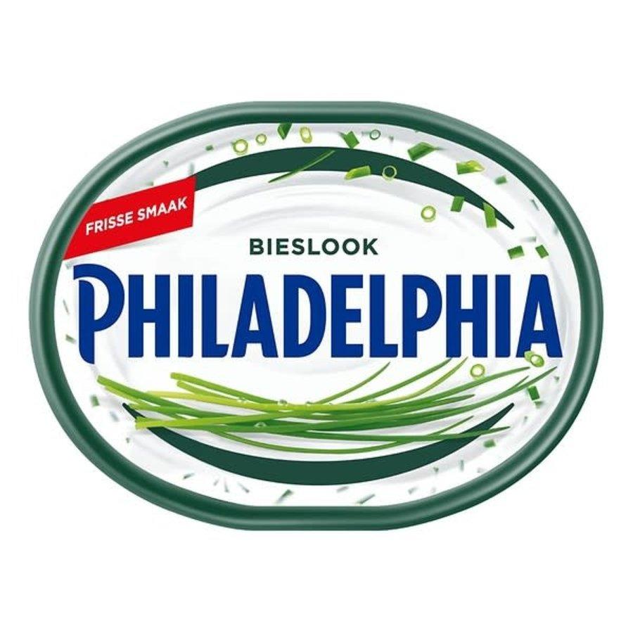 Philadelphia Zuivelspread zacht-fris bieslook, vegetarisch Artikelnummer: 28545-1