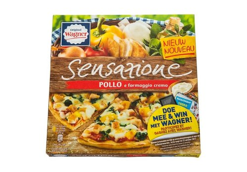 Wagner Sensazione Pizza pollo formaggio