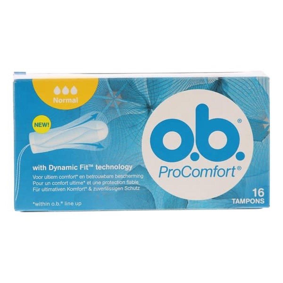 O.B. Tampons ProComfort normal-1
