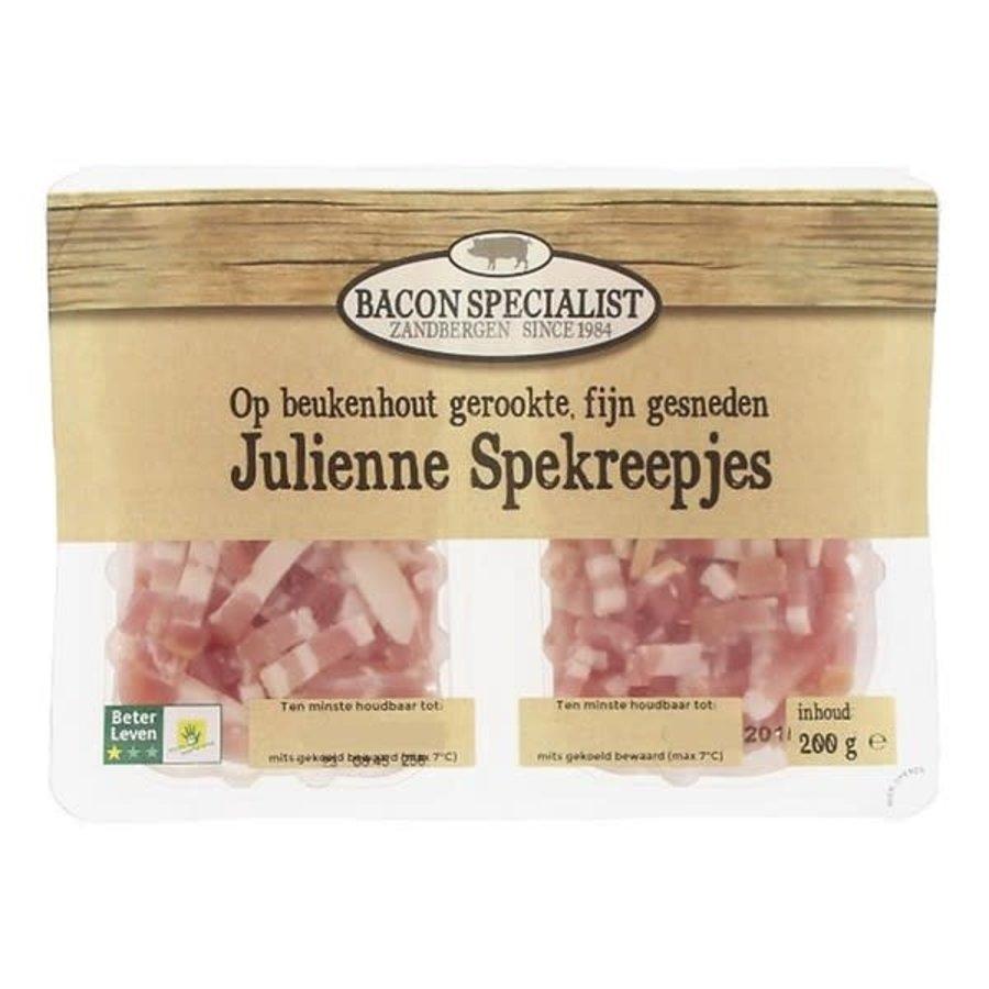 Julienne reepjes op beukenhout gerookt, BL1-1