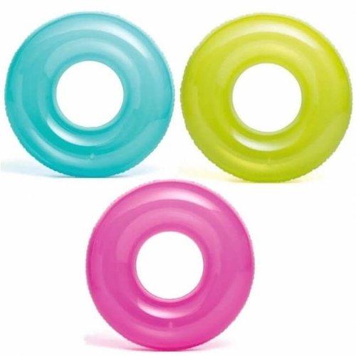 Intex zwemring neonkleur