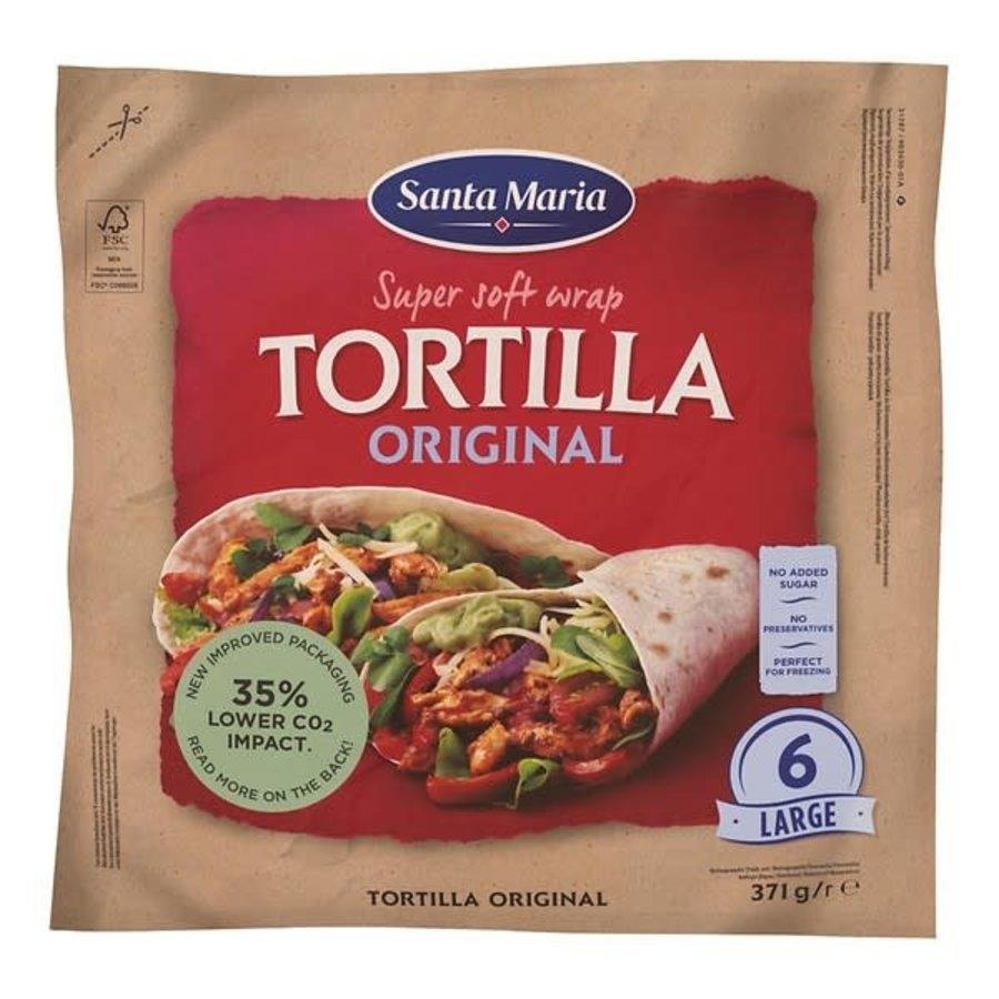 Santa Maria Tortilla original wrap-1