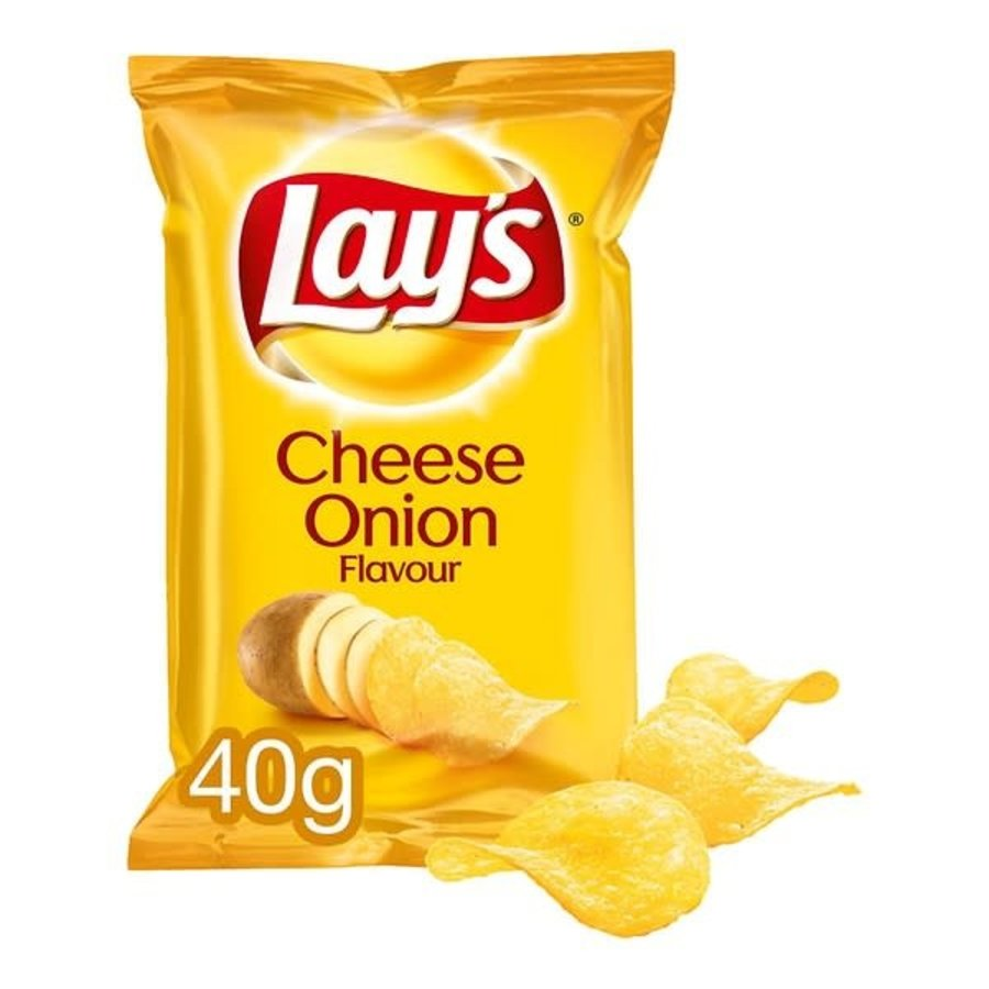 Lay's Cheese Onion chips 40 gram-1