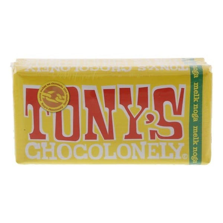Tony's Chocolonely Chocolade reep melk nougat-1