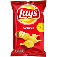 thumb-Lay's Naturel chips 175 gr-1