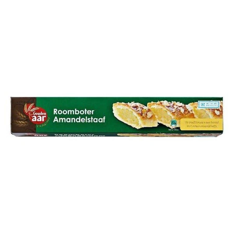 Gouden Aar Roomboter amandel kerststaaf-1