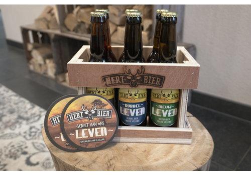 Hert bier geschenk set