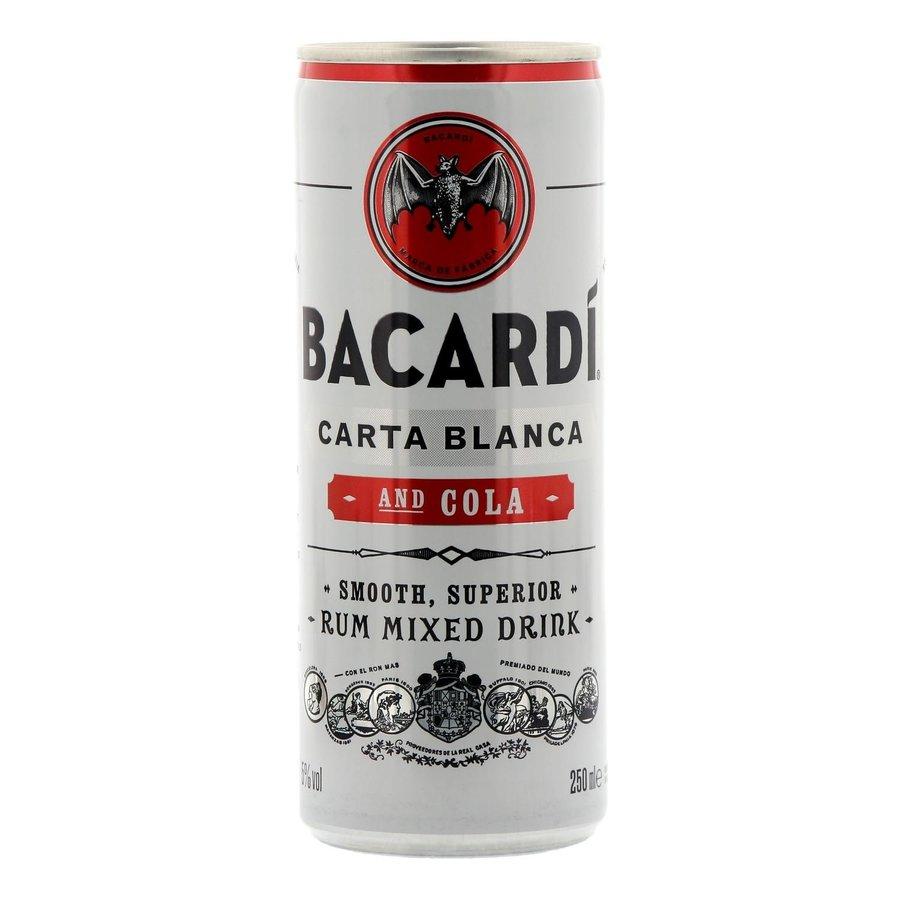 Bacardi Rum cola blik 250 ml-1