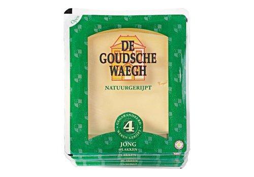 De Goudsche Waegh Jonge kaas gesneden