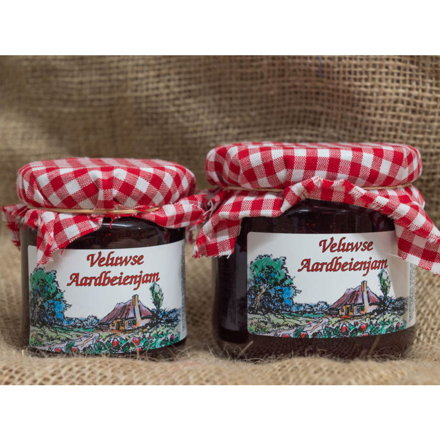 Veluwse Aardbeien jam-1
