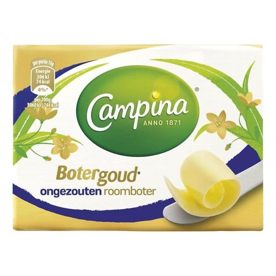 Campina Botergoud Roomboter ongezouten-1