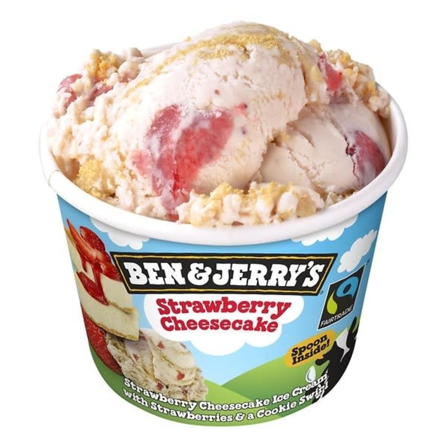 Ben & Jerry's Strawberry cheesecake-1