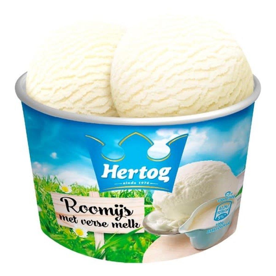 Hertog Vanille ijs-1