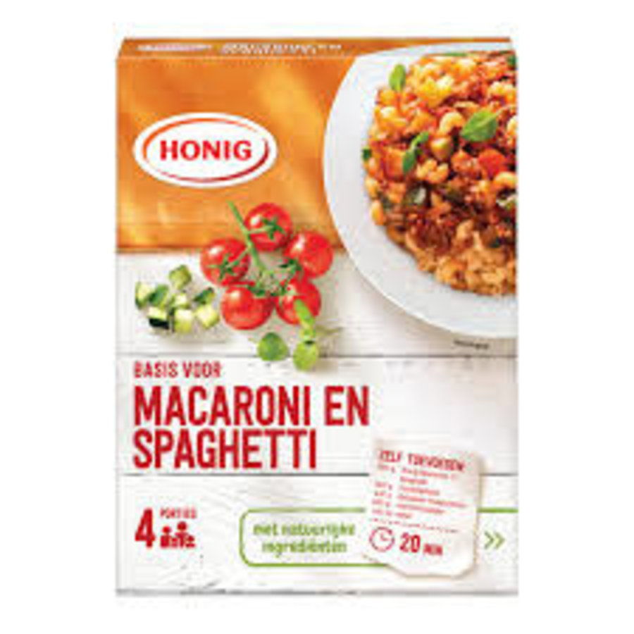 Honig Mix voor macaroni en spaghetti-1