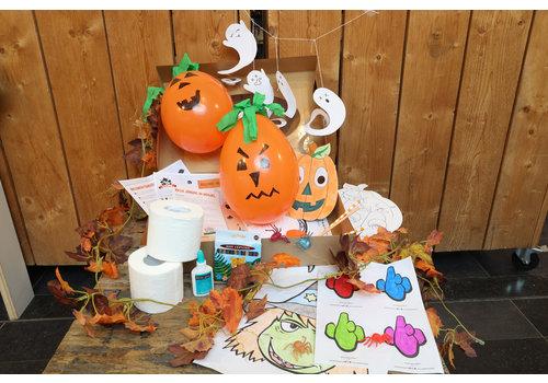Crazy Halloweenpakket 4 personen