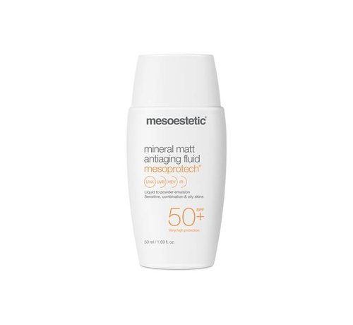 Mesoestetic Mesoprotech Mineral Matt Antiaging Fluid 50+