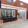 Actie veranda Giallo polydak  606x250 incl. montage