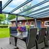 Actie veranda Pigato glasdak  606x250 incl. montage